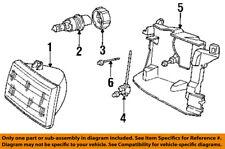 CHRYSLER OEM Headlight Head Light Lamp-Adjust Gear Left 4451995