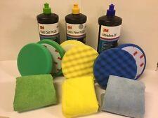 3M Perfect it lll Restoration & Polishing Kit (13 Piece) + Digital Pro Polisher