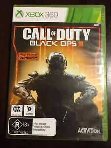 Call Of Duty Black Ops III 3 Xbox 360 PAL Free Postage