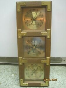 Vintage Springfield Thermometer Barometer Humidity Meter Weather Station