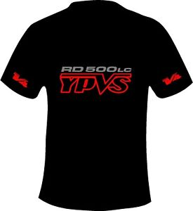 Yamaha RD500 LC YPVS Retro Style T Shirt Motorcycle Printed T Shirt in 6 Sizes