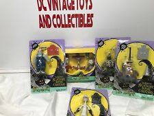1993 Hasbro Nightmare before Christmas Lock/Shock Dr. Werewolf figures lot of 5