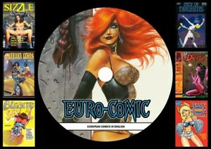 European comic Collection On PC DVD Rom (CBR FORMAT)