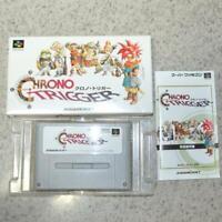 CHRONO TRIGGER Nintendo SFC Super Famicom RPG SNES NTSC-J Japan Import