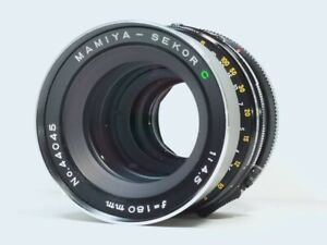 [Excellent Mamiya Sekor C 180mm f/4.5 MF Lens for RB67 PRO S SD from JAPAN