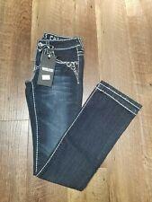 Women's Miss Chic dark wash jeans Sz.1