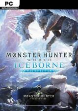 Monster Hunter World: Iceborne Master Edition STEAM PC *read description*