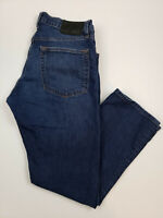 Eddie Bauer Men's Jeans Size 32x28 Straight Leg Dark Wash Blue Jean Denim
