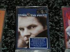 THE VERY BEST OF STING & THE POLICE AUDIO CASSETTE VERY GOOD CONDITION