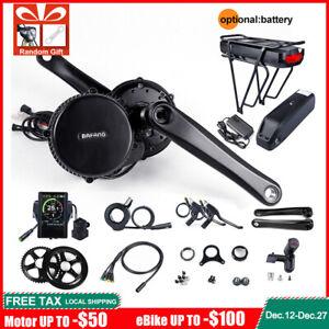 Ebike Umbausatz BAFANG BBS02B 48V 750W Mittelmotor mit Batterie / LCD-Display