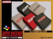 PAL Super Nintendo console canvas dust cover