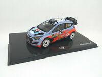 IXO 1:43 Hyundai i20 WRC  - RALLY Monte Carlo 2014 Neuville Gilsoul #7