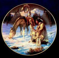 Hamilton-Twilight's Last Gleaming ~Chuck Ren The Last Warriors Collector Plate