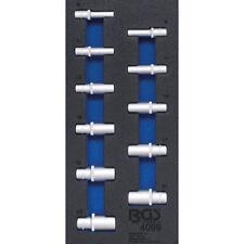"""Steckschlüssel-Satz in ZOLL Antrieb 10mm (3/8"""") tief Einsätze tief Nüsse 11-tlg."""