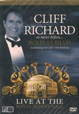 Cliff Richard : As never before ... Bold as Brass - Ltd. Edition (DVD + Diary)