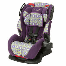 Girls Car Seat Convertible Rear Front Facing Booster Infant Baby Toddler Purple
