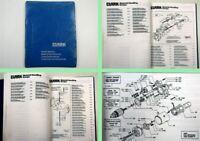 Clark C500 Y 685 PD Gabelstapler Ersatzteilkatalog Parts list 1970 - 1981