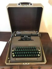 Vintage 1950s Smith-Corona Sterling Floating Shift Typewriter w/ Case