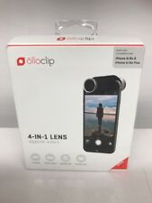 OLLOCLIP Iphone 6/6s ~ 4 in 1 Lens Macro Fisheye Wide Angle