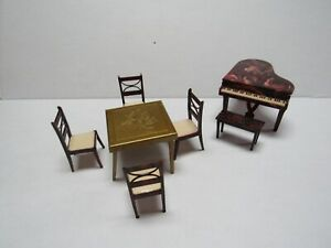 SHIPS FREE RENWAL PICTURE BOOK Vintage Miniature Dollhouse Furniture Ideal