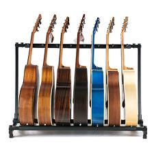 Professionnel multi Guitar rack stand duty 7 électrique et guitare acoustique