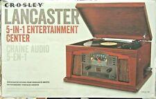 Crosley CR42C-PA Lancaster 5-in-1 Entertainment Center (Paprika)