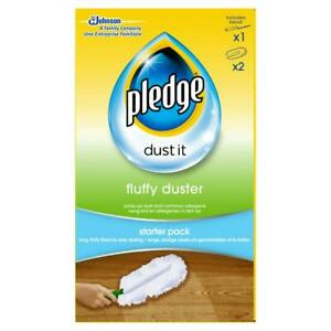 Pledge Fluffy Duster - starter kit dusting cleaning cloth pack - Mrs Hinch!