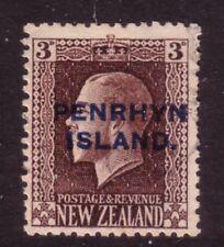 AITUTAKI....  1917 overprinted NZ stamp,  3d chocolate perf 14x13½ used...cv £70