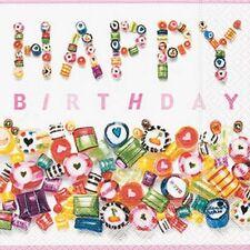 *Paper+Design*20 Servietten*Geburtstag*Sweet Birthday*