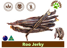 6kg KANGAROO ROO JERKY STRIPS NATURAL FREE RANGE HEALTHY DOG TREAT DOG CHEW