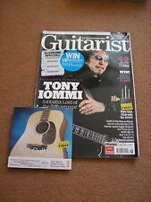 GUITARIST 316 +CD - TONY IOMMI, ROGER McGUINN, BENJAMIN TAYLOR, CRAIG ROSS.