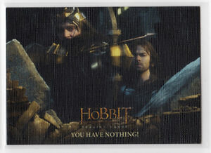 The Hobbit The Battle of the Five Armies - Base Card 46 Canvas Parallel 75/75