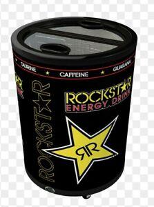 Rockstar Energy Drink Rechargeable Cold Merchandiser Cooler, Refrigerator