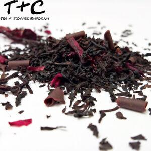 Cherries in Chocolate Tea - Premium Black Tea-Based Ceylon 50g - 900g + Free P&P