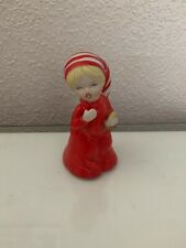 Vintage petite fille figure DECOR fragile Collection Mignon Noël Cheeky bum!