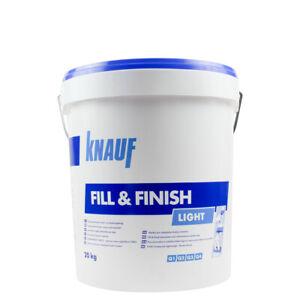 (1,86€/ Kg)Knauf Fill & Finish Light 20KG ,Sheetrock, Füll- und Feinspachtelmass