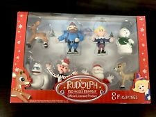 New Rudolph The Red Nose Reindeer Set Of 8