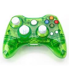 New Wireless Controller Joypad for Microsoft Xbox 360 Console Green Glow