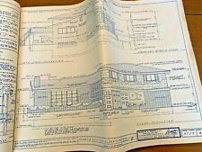 1961 Architectural Specifications Plans Book Rudolf Matern House Midcentury Lg