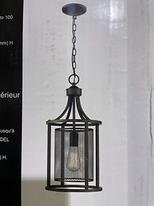 Eglo Lighting 202812A Verona - One Light Pendant  Oil Rubbed Bronze Finish with