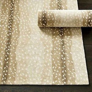 Ballard Designs Antelope Handmade Contemporary Style Woolen Rug & Carpets