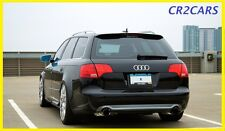 AUDI A4 B7 Estate S-Line Rear/spoiler de techo (2005-2007)