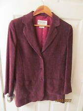 "Jeager Women""s Jacket Blazer Made in Great Britain Sz 10"
