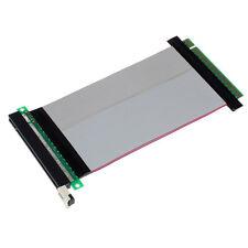 PCI-Express PCI-E 16X Riser Card Flexible Ribbon Extender Extension Cable Neu