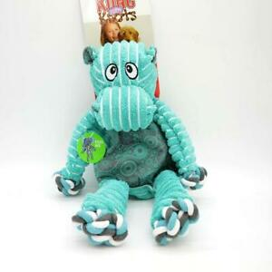 KONG Floppy Knots Hippo Dog Toy (Medium/Large)