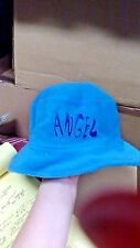GIRLS BLUE ANGEL HAT FLEECE BUCKET HAT 100% POLYESTER BRAND NEW FREE SHIPPING