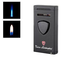 Lamborghini Gas Feuerzeug Pergusa Duo mit 2 Flammen schwarz Luxus 910411