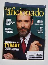 "Cigar Aficionado:  July/August 2016 Issue Adam Rayner ""Tyrant"" Cover"