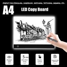 A4 LED Drawing Copy Board Table Stencil Tracing Light Box Tattoo Pad