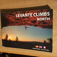 LEVANTE CLIMBS NORTH ~ SPAIN SPORT ROCK CLIMBING GUIDE BOOK Costa Blanca Area
